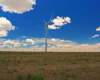 Wind elektrische generators Royalty-vrije Stock Fotografie