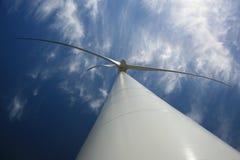 Wind-elektro generator Royalty-vrije Stock Afbeeldingen