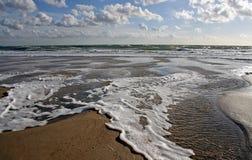 Wind en water stock foto's