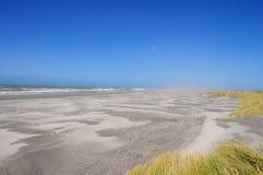 Wind en zand Stock Foto's