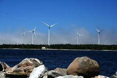 Wind-Energie Stockbild