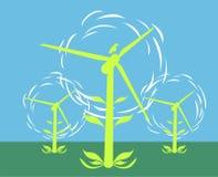 Wind-Energie Lizenzfreie Stockbilder