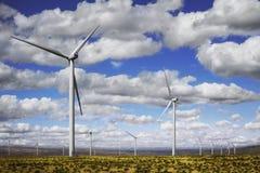 Wind-Energie stockfotografie