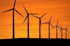 Wind-Energie Lizenzfreies Stockfoto