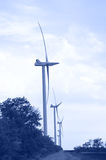 Wind energie. Royalty Free Stock Image