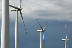 Wind energy #1 Royalty Free Stock Image