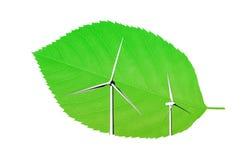 Wind energy Royalty Free Stock Photo