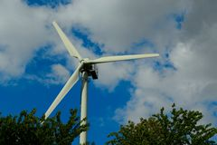 Wind for energy Stock Images