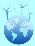 Wind energy Royalty Free Stock Image