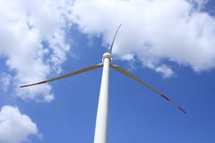 Wind energy. For a clean environment Stock Photo