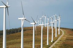 Wind energy #6 Royalty Free Stock Image
