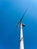 Wind energy alternative energy by wind power Stock Photos