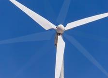 Wind energy blades royalty free stock photo