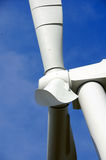 Wind Energy Blades. New Wind Energy Blades on Tower in Central Valley, CA Stock Photography