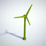 Wind energy concept Stock Photos