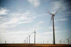 Wind energy concept Stock Photos