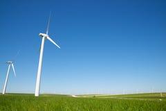 Wind energy concept Stock Photo