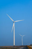 Wind energy. Is due to air flow to do work for human one kind of available energy, belong to the renewable energy (including hydro, biomass, etc stock photography