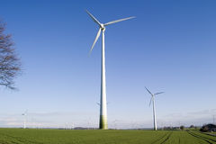Wind energy generator Stock Photography