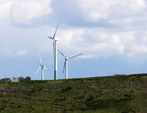 Wind energy generator Royalty Free Stock Images