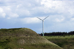 Wind energy generator Stock Photos