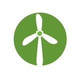 Wind energy green alternative. Vector illustration design Stock Image