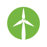 Wind energy green alternative. Vector illustration design Royalty Free Stock Images