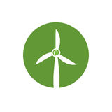 Wind energy green alternative. Vector illustration design Stock Photos