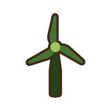 Wind energy green alternative. Vector illustration design Stock Images