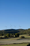 Wind energy - power station Stock Image