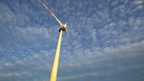 Wind energy ,wind power , wind turbine. 4k stock video footage