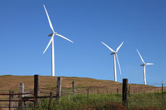 Wind energy technologies. Stock Photo