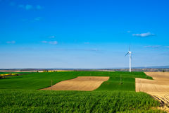 Wind energy turbine Stock Image