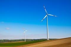 Wind energy turbine Royalty Free Stock Image