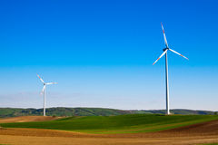 Wind energy turbine Royalty Free Stock Photography