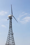 Wind Energy Turbine Royalty Free Stock Images