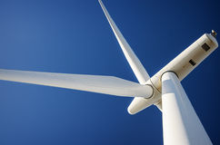 Wind energy turbine, Ecology Stock Images