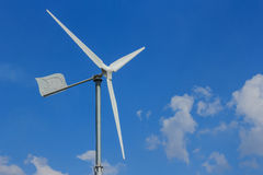 Wind energy turbine power Stock Photography