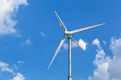 Wind energy turbine power from natural Stock Photography