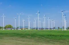 Free Wind Energy Turbines. Stock Photo - 29353250
