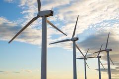 Wind energy view Stock Image