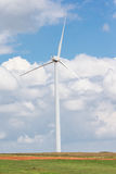Wind energy in Western Oklahoma Stock Image