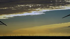 Wind energy ,wind power , wind turbine stock video