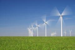 Wind energy Royalty Free Stock Photos