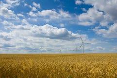 wind för 3 lantgård fotografering för bildbyråer