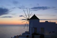 wind för abstraktionstormsolnedgång Arkivbild