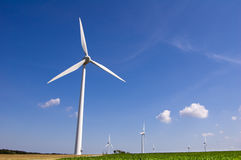 Wind farm 10 Royalty Free Stock Photography