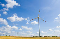 Wind farm 14 Royalty Free Stock Image