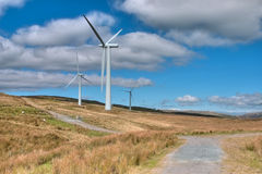 Wind farm Stock Photography