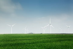 Wind farm Royalty Free Stock Photos